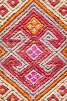 kleurrijk tapijt foto