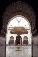 museum van marrakech, marokko.