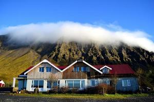 woonboerderij in een dorp foto