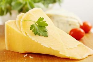 Parmezaanse kaas met tomaten foto
