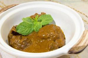 nonya curry beef rendang foto