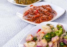 sambal, pittige indonesische saus foto