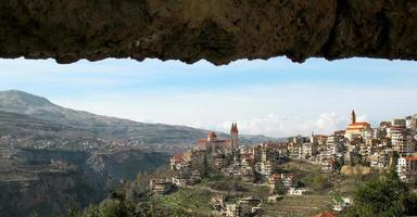 Libanees dorp, Bsharri foto