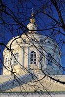 mikhail arkhangel orthodoxe kerk in orel, rusland foto