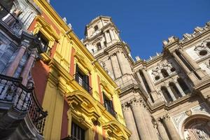 kathedraal van Malaga foto