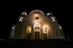 kerk van saint sava, belgrado, servië foto