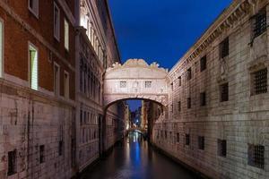 Brug der zuchten, Venetië foto