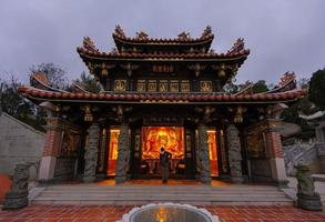 traditionele Chinese tempel foto