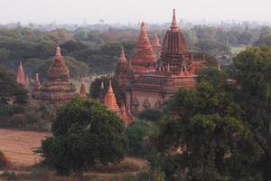 prachtige pagode met natuurlijk foto