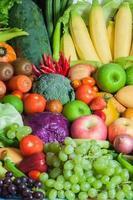 groenten en fruit voor gezond foto