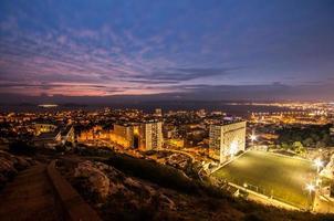 skyline van Marseille foto