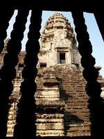 ankor wat en thom, siem reap, cambodja foto