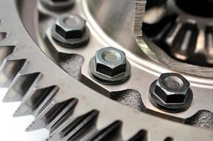 detail van een versnelling. foto
