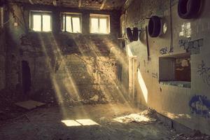 verlaten gebouw foto