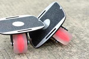 freeline skate, een stijl van skateboard,