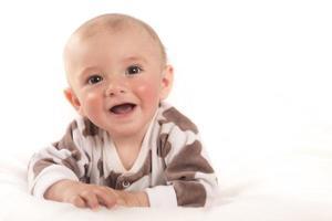 pasgeboren babyjongen portret