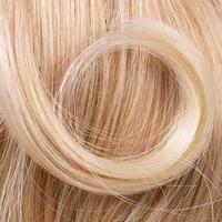 mooie blonde haren als achtergrond foto