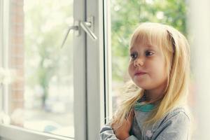 portret van 5 jaar oud meisje