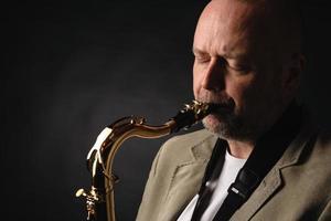 saxofonist foto