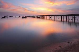 sfeer prachtig twiligh