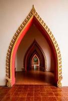 boog van tempel in Thailand foto