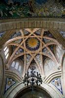 kerk in Pontevedra, Galicië, Spanje foto