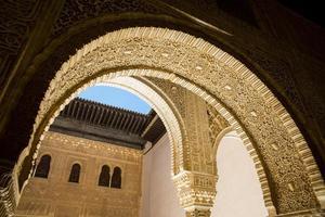 het alhambra. Granada. Andalusië. Spanje. Europa. foto