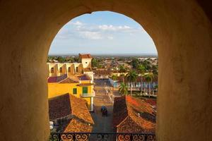 weergave van Trinidad, Cuba van bovenaf foto