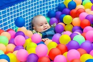 kleurrijke ballen foto