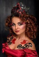 schoonheids jonge vrouw, close-up, echt schoonheidsmeisje