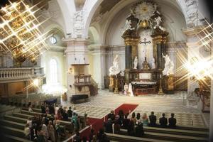 huwelijksceremoni foto