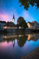 Straatsburg zonsopgang foto