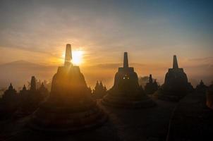 borobudur tempel foto