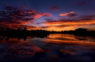 zonsopgang in Napels, Florida foto