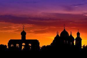 kathedraal van st. sophia in novgorod foto