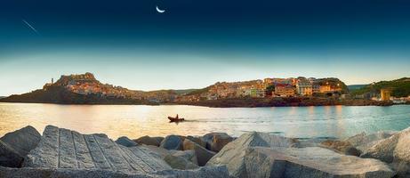 Sardinië castelsardo foto