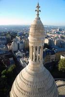 Parijs uitzicht vanaf sacré coeur foto