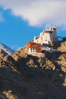 namgyal tsemo gompa in leh, ladakh, india foto