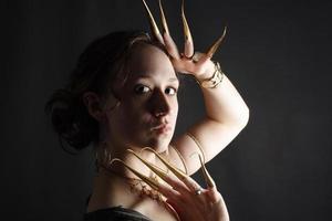 buikdanseres serie foto