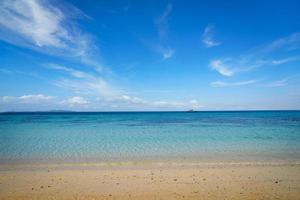 leeg Koh Rok-strand in zomer, Thailand foto