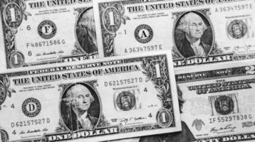 sommige Amerikaanse dollars foto