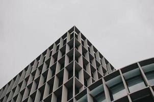 architectonisch ontwerp van het gebouw foto