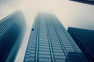 wolkenkrabbers foto