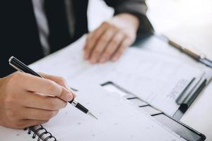 zakelijke professionele planning