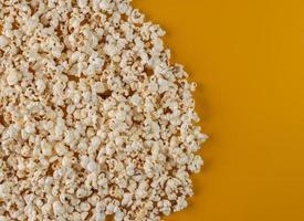 popcorn bovenaanzicht