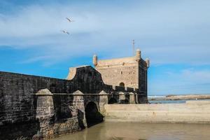 Essaouira citadel dicht bij de Atlantische Oceaan foto