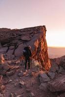 Mount Whitney over het hoofd foto
