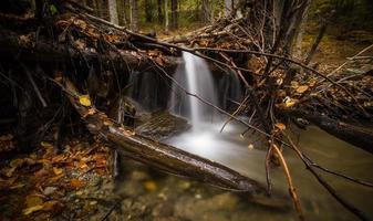time-lapse fotografie van watervallen foto