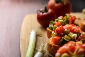 gezond mediterraan eten foto