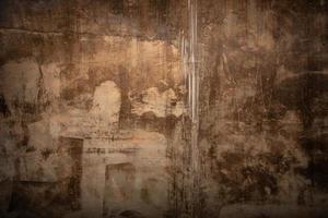 roestig retro behangontwerp van de muur foto